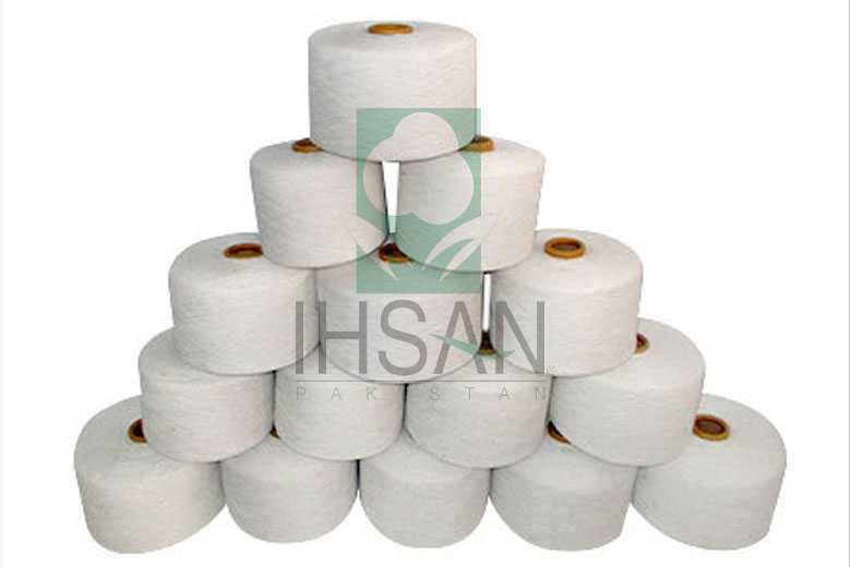 Bleached Cotton Twisted Yarns NE 3 to NE 40/s